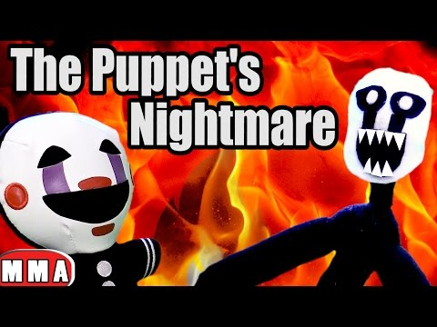 FNAF plush- The Puppet's Nightmare