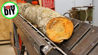 Log Conveyor - Log Splitter To Firewood Processor Ep. 2