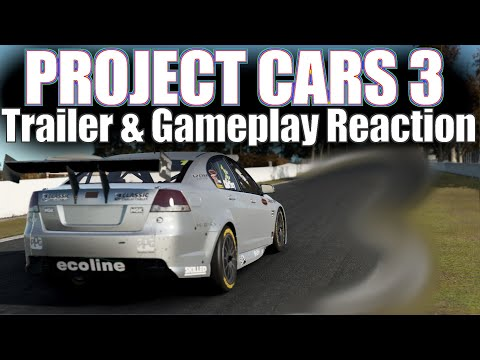 Project Cars 3 Trailer and Gameplay Reaction by Failgames |