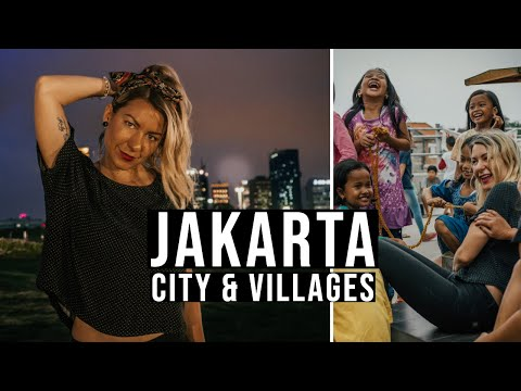 TRAVEL JAKARTA | Local village in a busy city | BETTER THAN BALI INDONESIA desa, kota, makanan