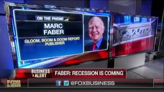 Faber: The world is in a global recession