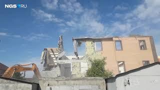 В Ленинском районе начали  сносить церковь адвентистов
