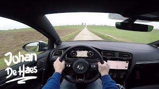 2018 VW Golf R 310 Hp AKRAPOVIC Exhaust POV Test Drive