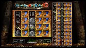 Book of Ra Deluxe 10 kostenlos spielen - Novomatic / Novoline