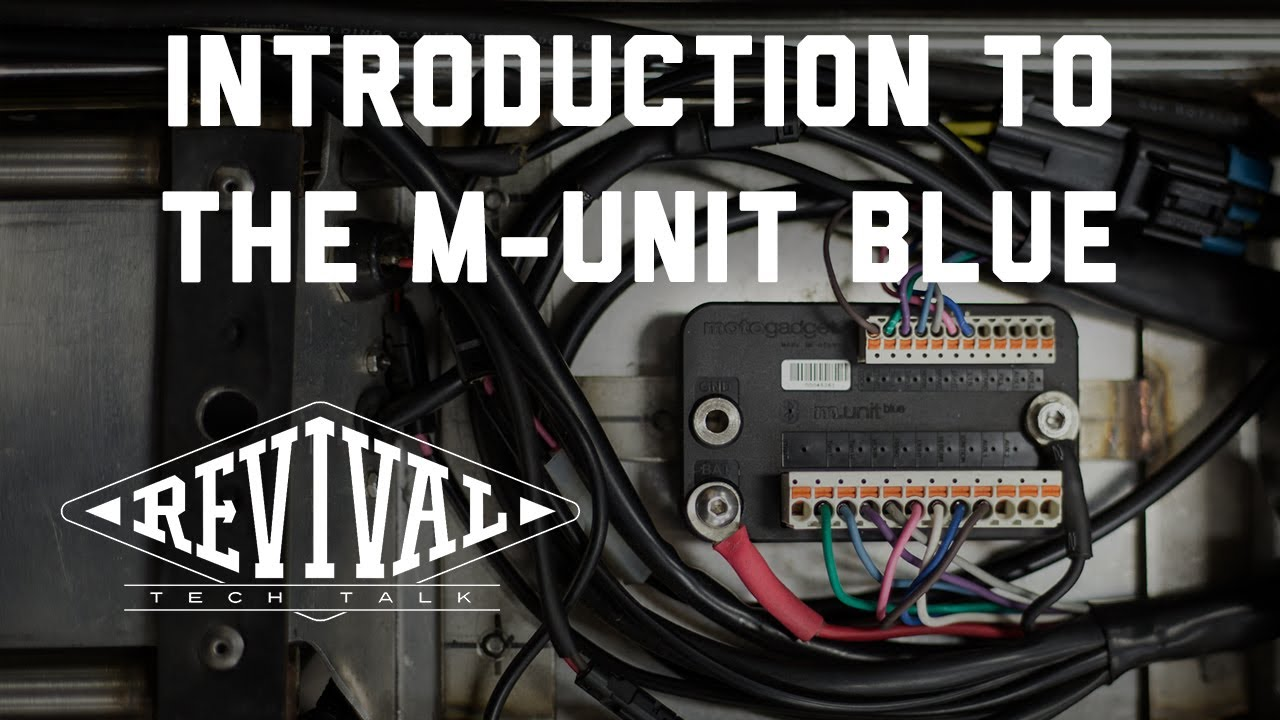 Meet The Motogadget M-unit Blue - Revival Cycles U0026 39  Tech Talk