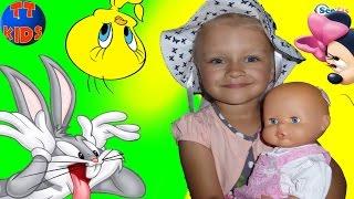 Ярослава и кукла Ненуко в Музее Игрушек в Анталии. Видео для детей. Doll Nenuco Toy Museum Antalya