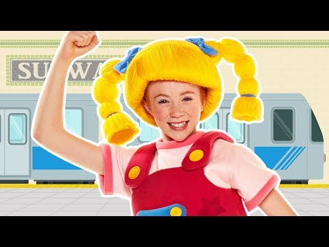 The Subway Shake | RIDE THE TRAIN | Mother Goose Club Songs for Children