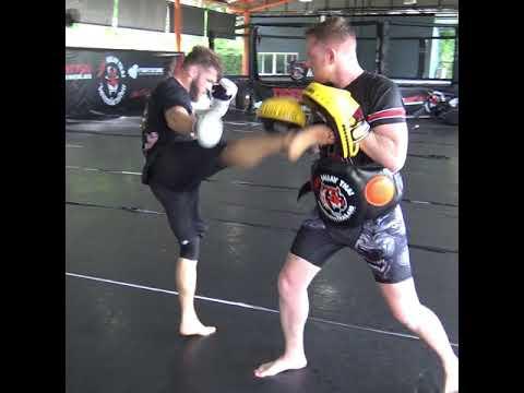 "Rafael ""Ataman"" Fiziev Training For UFC Singapore"
