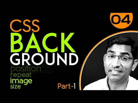 Background-image, Size, Repeat, Position - CSS3 Tutorial In Hindi - Urdu - Class - 04