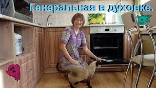 Чистота залог здоровья!!! Чищу духовку и решётки.