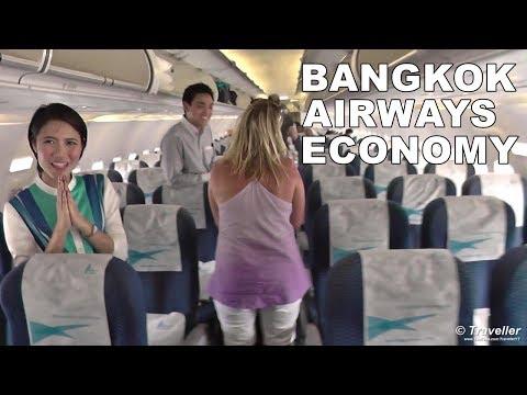 BANGKOK AIRWAYS ECONOMY CLASS Flight to Hong Kong – Airbus A319 Flight Review