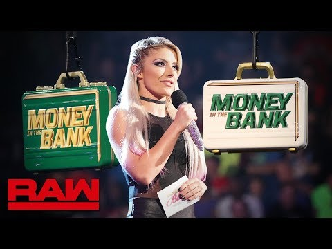 Alexa Bliss Reveals The Raw Superstars In The Men's Money In The Bank Match: Raw, April 29, 2019