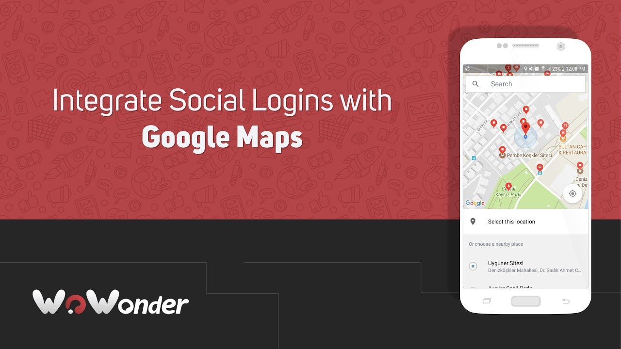WoWonder Social Apps: Integrate Social Logins with Google Maps