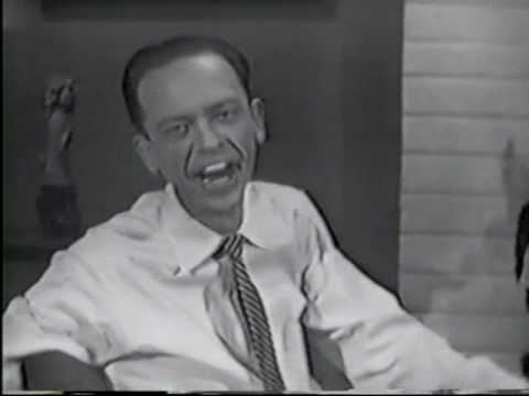 Louis Nye Don Knotts Tom Poston Gene Rayburn on RECESSION