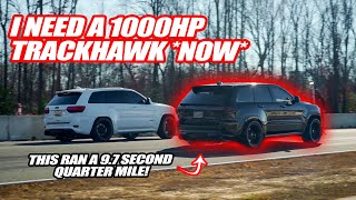 RANDY FINDS OUT HE NEEDS A CRAZY 1000HP TRACKHAWK! *9.7 SECOND QUARTER MILE*