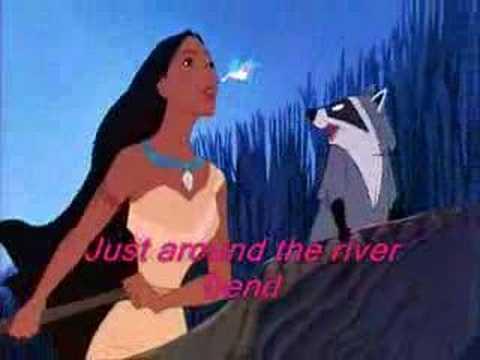 Pocahontas-Just aroud the riverbend- instrumental