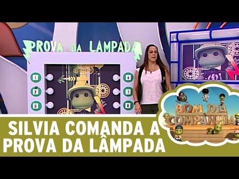 Bom Dia e Cia. (25/05/16) - Silvia Abravanel brinca na Prova da Lâmpada