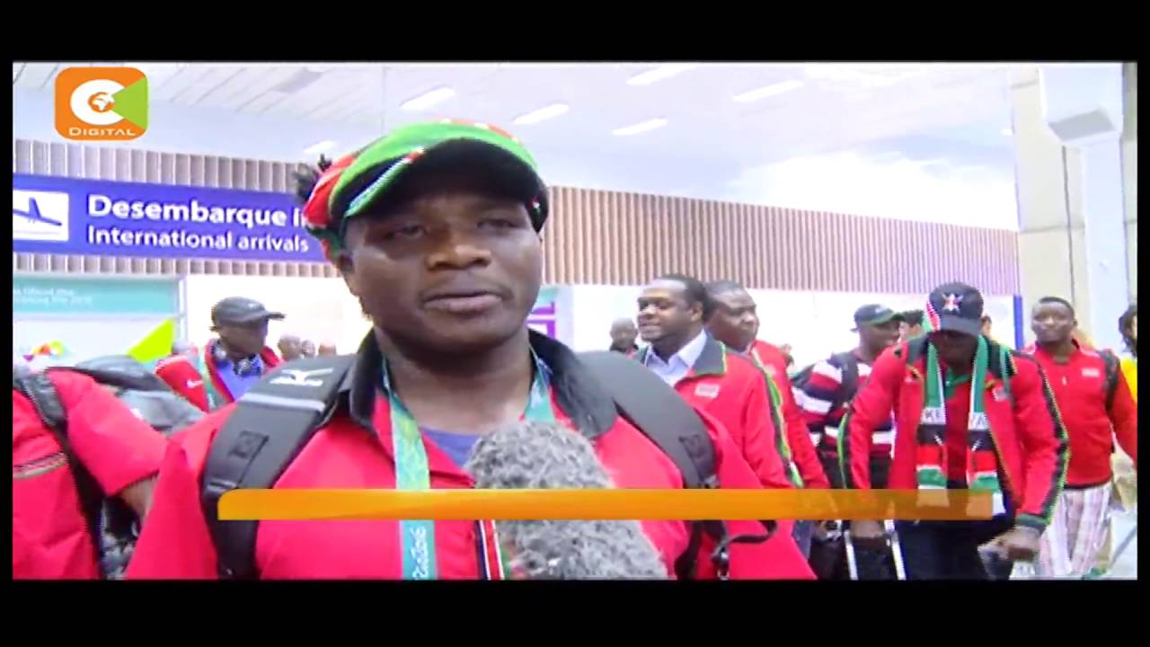 Kenyan athletes finally arrive in Brazil ready to face the world