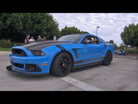 Ford Mustang Shelby GT500 SVT – Sound!
