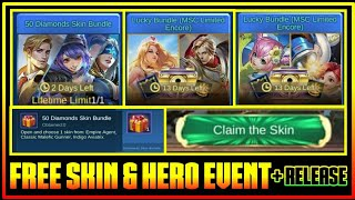 All Free Skin & Hero Events in Mobile Legends