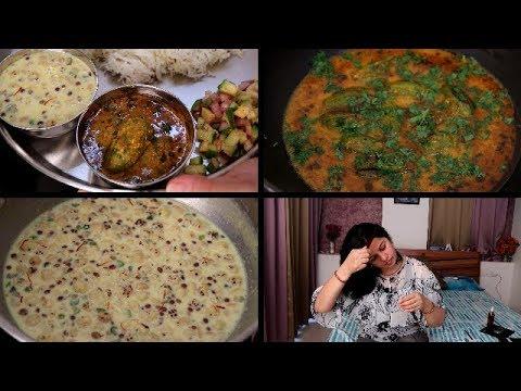 Aaj Behad Khush Kar Diya | SUNDAY LUNCH ROUTINE | Dahi Parwal | Makhana Kheer | IndianVlogger