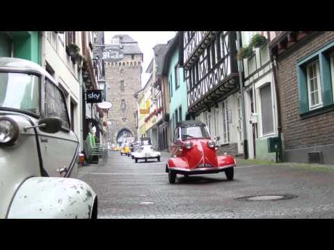 Messerschmitt Kabinenroller Treffen Remagen 2011 by Rollermobil on YouTube