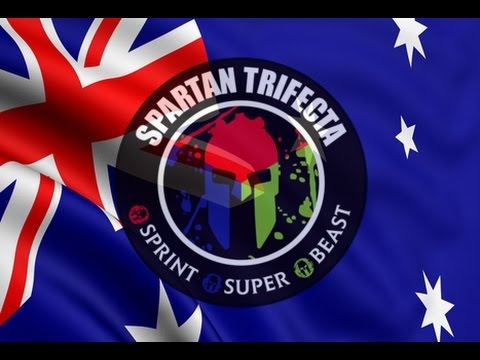 """Australia Spartan Trifecta Weekend 2016 - """"Live on the BRIGHT side"""""""