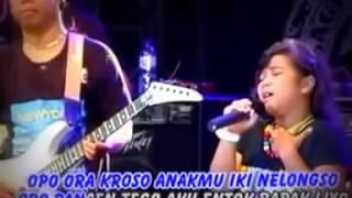 Korbane Wong Tuwo  Nony SAGITA,,Nangis