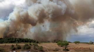 Ardèche - Incendie Labastide de Virac et Vagnas