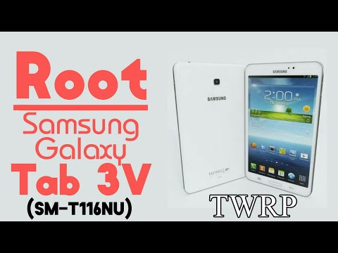 How to Root Samsung Galaxy Tab 3V (SMT116NU) - YouTube