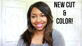 New Cut and Color! | Sheena