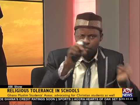 Religious Tolerance In Schools - AM Show (3-3-15)