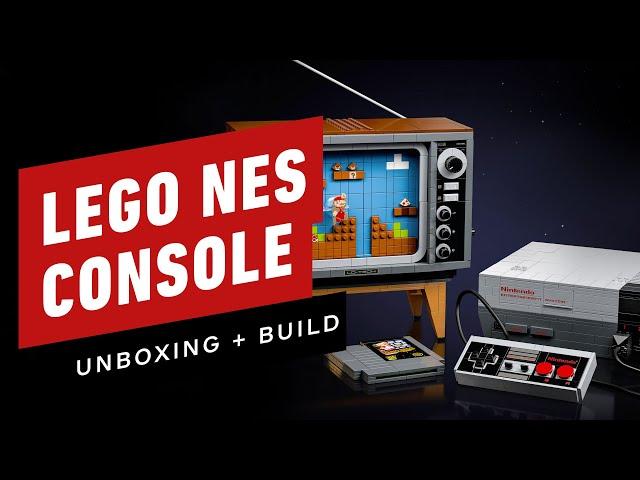 The LEGO Nintendo Console Has An Amazing Hidden Secret
