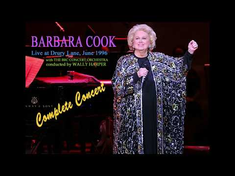 Barbara Cook Drury Lane Concert 1996
