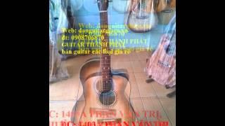 bán đàn acoustic gỗ hồng đào giá siêu rẻ , đàn guitar acoustic màu đen