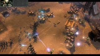 HD Warhammer 40k Dawn of War 2 Gameplay on XFX 8600 GT Fatal1ty