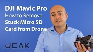 Removing Micro SD Card Stuck and Jammed in DJI Mavic Pro Drone
