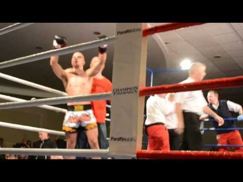 JJedrzej Rajca vs John Healy , Fight for the professional irish WKU k1 championship.