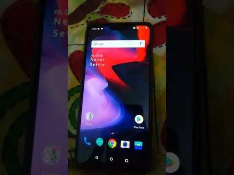 Oneplus 6 screen flickering issue