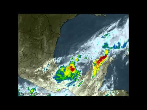 Tropical Storm NATE 5Day Forcast Sept7 2011