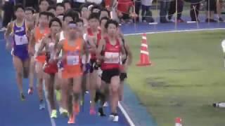 日体大記録会5000m30組 町澤(中大OB)  2018.9.23