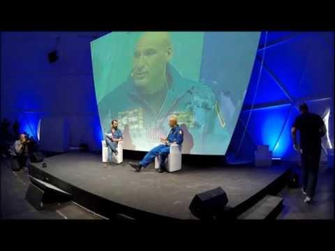 Luca Parmitano al Wired Next Fest 18 Maggio 2014