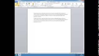 Урок 5. Ленточный интерфейс Word 2010