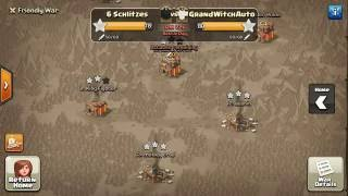 Clash of Clans: CWL Week 5 || 6Schlitzes vs GrandWitchAuto last 20mins of the war
