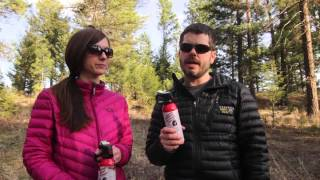 Using Bear Spray while Hiking