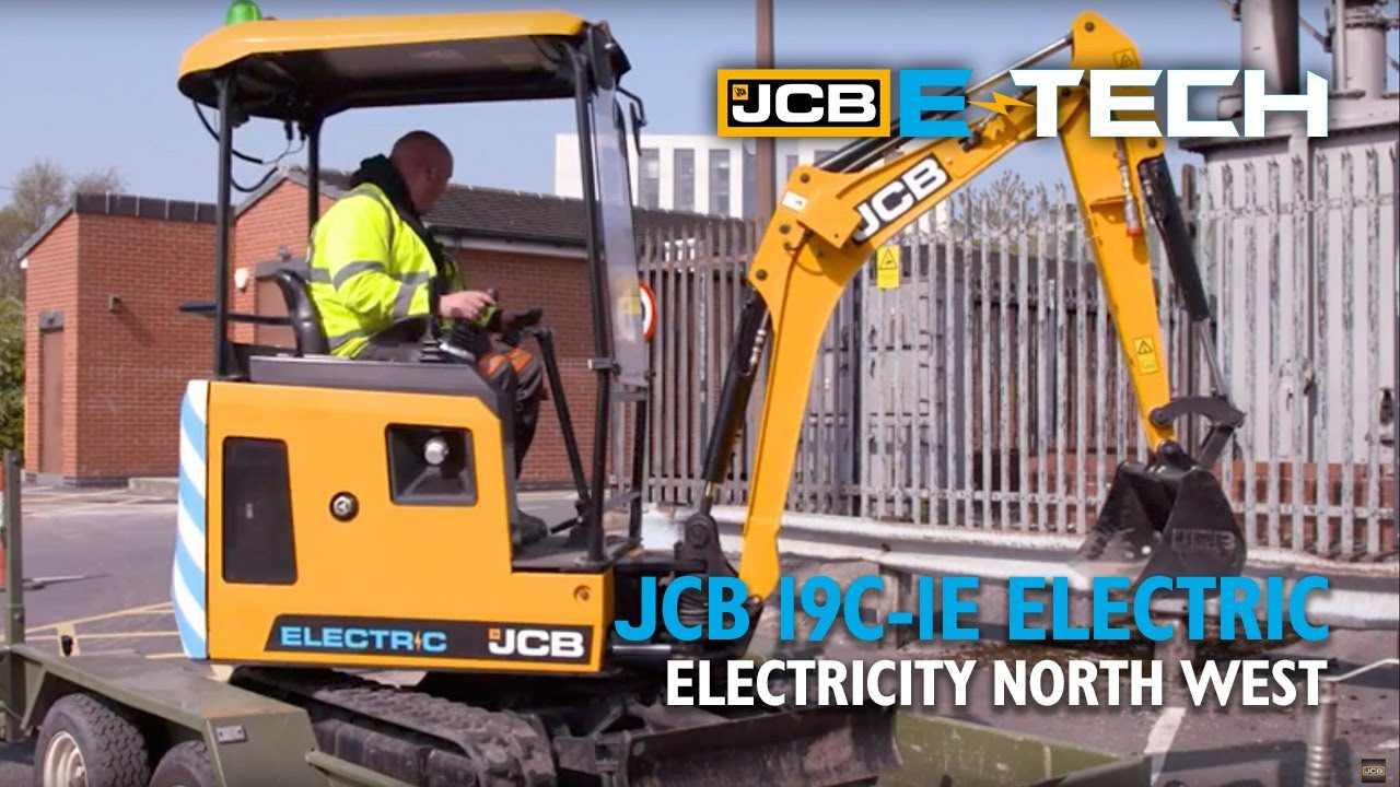 What do Customers Think? JCB Electric 19C-1E Mini Excavator – Electricity North West