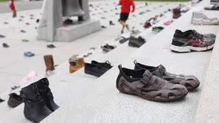 450 shoes = A call to fight in…