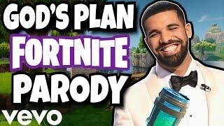 "Drake - ""GOD'S PLAN"" (Fortnite Parody)"