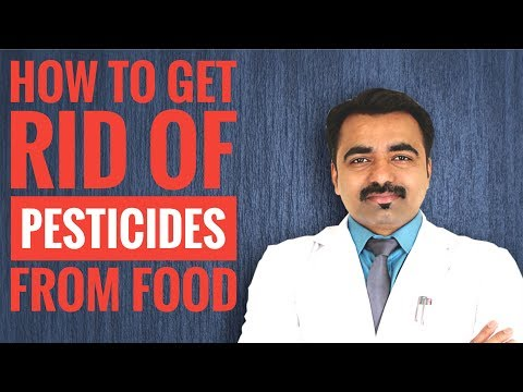 How to get rid of Chemicals and Pesticides from Fruits and Vegetables-Hindi