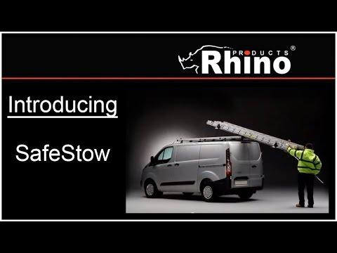 Introducing Rhino Products SafeStow3 - VAN-RACKS